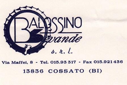 Balossino Bevande Cossato